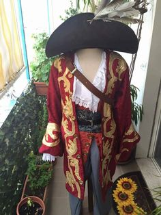 Captain Teague Sparrow from Pirates of the Caribbean Cosplay Costume di FerriseRynerCosplay su Etsy
