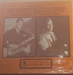 Coleman Hawkins Mary Lou Williams Jazz Pioneers Sealed Prestige Jazz Record Album by RASVINYL on Etsy