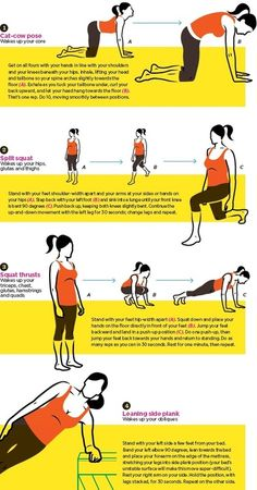 Moves for your morning workout