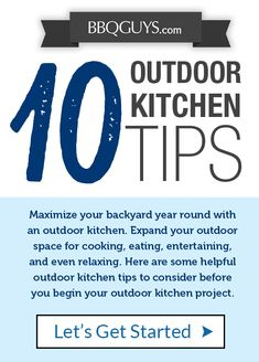 Outdoor Kitchen Design Tips Trager Grill, Outdoor Refrigerator, Outdoor Kitchen Design, Take The First Step, Design Services, Kitchen Hacks, Service Design, Bbq, Backyard
