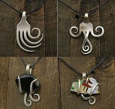 fork jewelry diy/this goes to a different site but cool forks