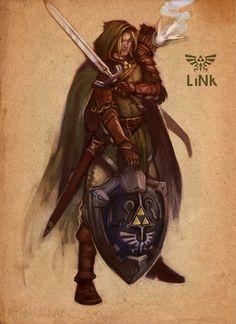 M. Puncekar Illustration: Link - SotD 138