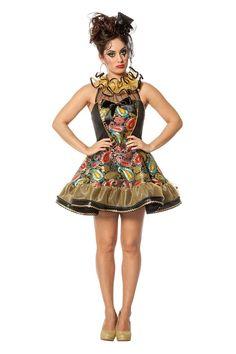 2ec41fc31e6118 Clown jurkje paisley is uitgevoerd in een geweldige stof