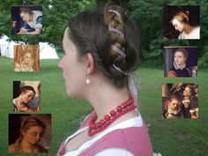 16th Century Hair Taping by ~healormor on deviantART