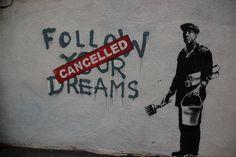 graffiti. banksy