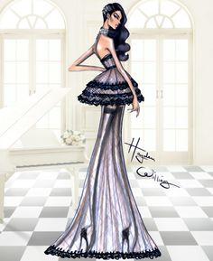 Hayden Williams Haute Couture SS16: Look 4