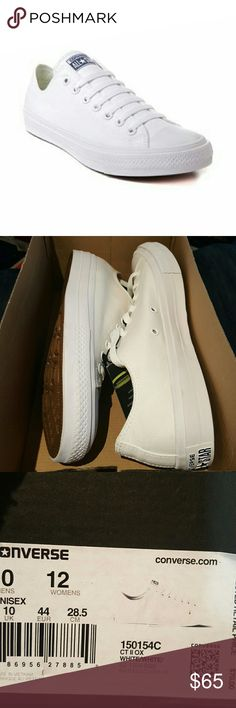 Converse Chuck Taylor All Star II Lo Sneaker The new Converse Chuck Taylor  All Star II Lo Sneaker offers modern new features without compromising  classic ... c384c2ea5d4b