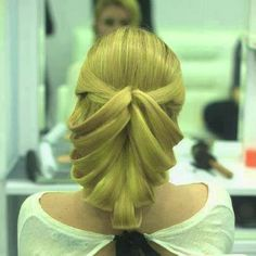 How did they do this #wedding hairstyle?