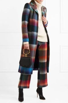 Multicolored mohair-blend Concealed snap fastening through front 53% mohair, 29% nylon, 18% wool; lining: 100% polyester Dry clean Made in Italy