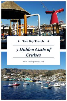 Cruises are a great option for the budget traveler. But there are many hidden costs on cruises. Here are 5 extra costs to know about for your cruise budget. Packing List For Cruise, Cruise Tips, Cruise Travel, Cruise Vacation, Travel Advice, Travel Guides, Travel Tips, Fun Travel, Travel Hacks