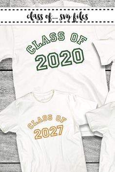 Create keepsake First Day of School Shirts for your little scholar with these Class of SVG files from Everyday Party Magazine #ClassOf #EverydayPartyMagazineShop #SVGSaturday