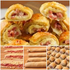 food Ham and cheese pretzel bites snacks Baby. I Love Food, Good Food, Yummy Food, Delicious Recipes, Tasty, Appetizer Recipes, Snack Recipes, Cooking Recipes, Mini Appetizers