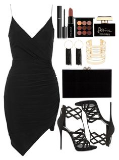 A fashion look from April 2016 featuring short dresses, giuseppe zanotti sandals and handbag pouch. Browse and shop related looks. Cute Comfy Outfits, Swag Outfits, Night Outfits, Cute Casual Outfits, Stylish Outfits, Date Outfits, Teen Fashion Outfits, Look Fashion, Looks Black