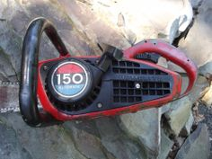HOMELITE 150 Automatic Chainsaw Good Condition Vintage Saw Runs #Homelite