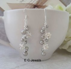 Slim Elegance Drops for your Bridesmaids - you pick your color on Etsy, $19.00