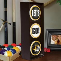 Missouri Tigers Flashing Let's Go Light  #fanatics