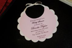 Baby Shower Invitation by palmbeachpolkadots on Etsy, $2.00