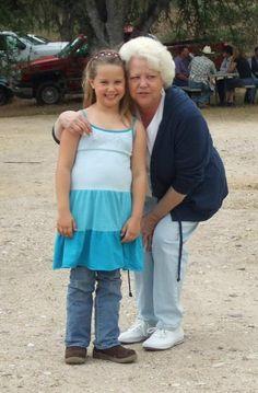 Granny and Lauren - May 2009