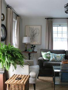 Neutrals, living room