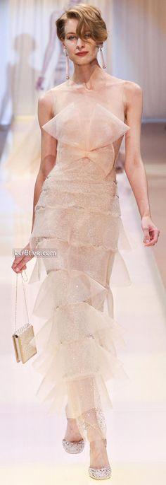 Giorgio Armani Privé Fall Winter 2013-14 Haute Couture!