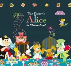 Alice in Wonderland #disney