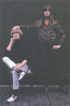 Brian Jones and Francoise Hardy