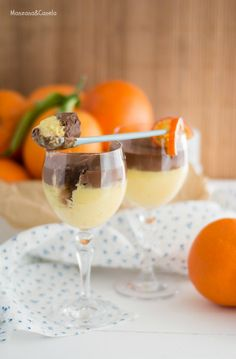 Chocolate and orange curd. Thermomix Desserts, Chocolate Thermomix, Fusion Food, Chocolate Truffles, Sin Gluten, Dessert Table, Sweet Recipes, Tasty, Favorite Recipes
