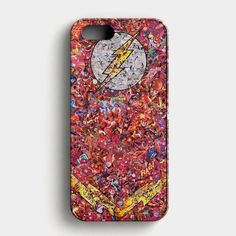 The Flash Logo Comic iPhone SE Case its a case, a protective yet stylish shield between your phone and accidental bumps, drops, and scra. Iphone Logo, Iphone Se, The Flash, Phone Cases, Comics, Logos, Products, Logo, Phone Case