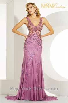 MNM Couture 7731 lilac front (also in lime & black)