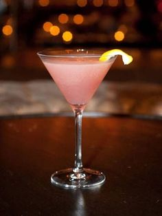 2 oz. Bacardi Limón ½ oz. Cointreau ½ oz. raspberry syrup 1 oz. lemon juice Garnish: lemon twist Combine all ingredients in a cocktail shaker filled with ice. Shake vigorously and strain into a martini glass. Garnish with a lemon twist. Source: Dream Downtown Hotel's PH-D Rooftop Lounge