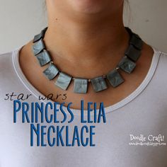 Star Wars Princess Leia Ceremonial Necklace DIY!