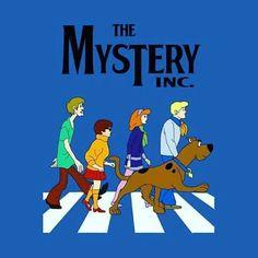 Awesome 'Scooby+Doo+Abbey+Road' design on TeePublic! Vintage Cartoon, Cartoon Art, Cartoon Characters, Old Cartoons, Classic Cartoons, Disney Wallpaper, Cartoon Wallpaper, Tumblr Book, Desenho Scooby Doo