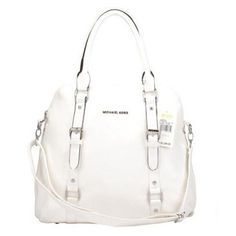 Michael Kors Bowling Large White Satchels, Your First Choice