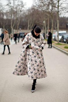 Giovanna Battaglia's stunning coat