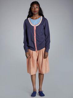 Cold Rain, Striped Knit, Knit Cardigan, Knitting, Pants, Clothes, Design, Women, Fashion