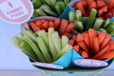 ótima idéia para fazer os pequenos comerem legumes....perfeito nesta época de páscoa!