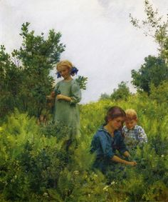 Fine Art and You: Charles Courtney Curran | American Impressionist Painter | 1861-1942