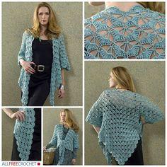 Popular Zen Jacket | AllFreeCrochet.com
