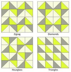 Greenwich Minus 8: Ode to Half Square Triangles (HST's): how to make half square triangles