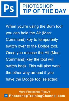 When you're using the Burn tool you can hold the Alt (Mac: Command) key to temporarily switch over to the Dodge tool. Once you release the Alt (Mac:command) key the tool will switch back. This will also work the other way around if you have the Dodge tool selected.
