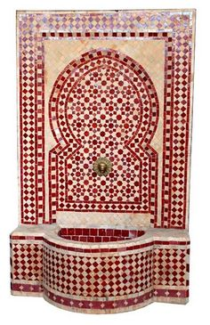 Cairo fountain in red, OH MY LOVE!!