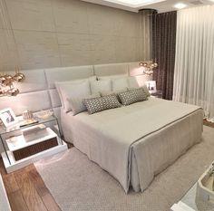 Blog de luxo Living Room Shelves, Living Room Furniture, Suite Master, Dream Bedroom, Master Bedroom, Modern Bedroom, Bedroom Decor, Teen Girl Rooms, Suites