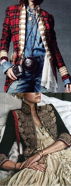 Vintage Royal Style Women Jacket Coats – dandy look Royal Fashion, Boho Fashion, Vintage Fashion, Fashion Outfits, Womens Fashion, Fashion Design, Fashion Hacks, Style Vintage, Vogue Fashion