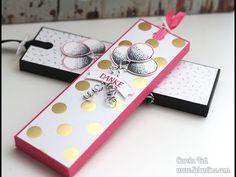Anleitung: Schokoladenziehverpackung - Box für Schokolade | Stampin' Up! - YouTube
