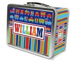 Hey, I found this really awesome Etsy listing at https://www.etsy.com/listing/197826763/trains-retro-personalized-lunch-box