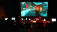 """Check out this video game puppetry troupe! The New York Times has called their work """"an impressive feat of engineering, coordination, and storytelling."""" #videogametheater #machinimatheater #videogamepuppetry"""
