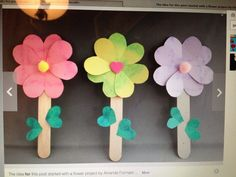 ❤️Flowers..' Cute & easy to make ..