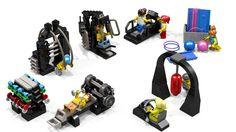 LEGO Ideas - Gym Equipment