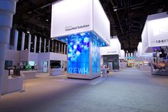 CES 2014 Samsung Booth Design by MDLab Thanks to http://finedesignassociates.com for the great pictures