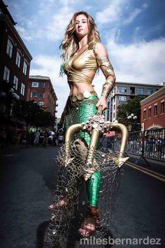 Aquaman for Comic Con 2014 #aquaman #aquawoman #aquamam #comiccon #sdcc #aquamancosplay #cosplay Aquaman Cosplay